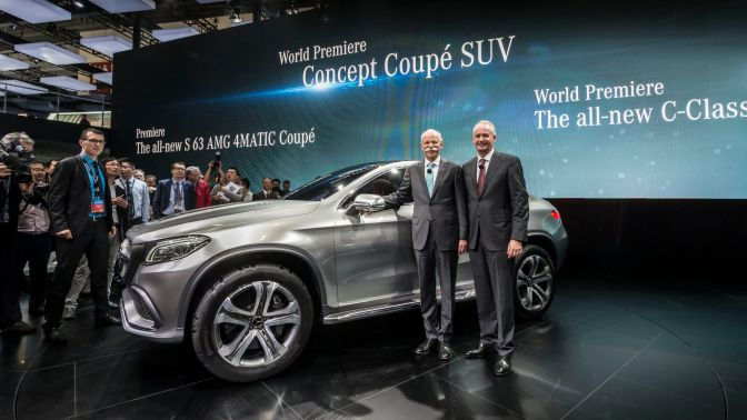 Mercedes-Benz at Auto China 2014: Concept Coupé SUV