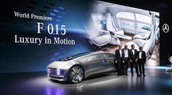 #CES2015: World premiere of the Mercedes-Benz F 015 Luxury in Motion (Photos/Video)